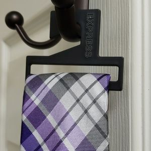 New Express purple/gray tie
